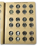 Washington Quarters Set BU & Proof 1965 -1998 P,D,S (In Dansco)