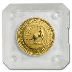 1991 1/10 oz Australian Gold Nugget