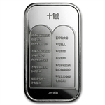 1 oz Ten Commandments Silver Bar (in Chinese)