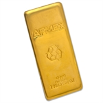 1 kilo (32.15 oz) APMEX Gold Bar .9999 Fine
