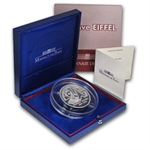 France 2009 50 Euros 5 oz. Silver Proof Eiffel Tower