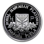 1997 1/4 oz Hawaiian Platinum King (Proof)