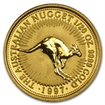 1997 1/20 oz Australian Gold Nugget