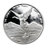 2011 1/4 oz Silver Libertad - Proof (In Capsule)