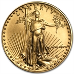 1986 MCMLXXXVI 1/2 oz Gold American Eagle Brilliant Uncirculated