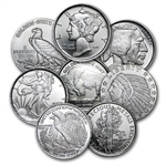 1/10 oz Silver Rounds ( Secondary Market) .999 Fine