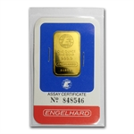 1 oz (.9999 Fine) Gold Bar - Engelhard 1986 (In Assay)