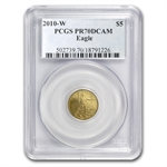 2010-W 1/10 oz Proof Gold American Eagle PR-70 PCGS
