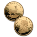 2005 Proof Gold South Africa Krugerrand Treasures of Africa Set