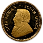 1989 1/10 oz Proof Gold South African Krugerrand