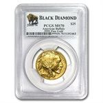2008-W 1/2 oz Gold Buffalo MS-70 PCGS (Black Diamond)