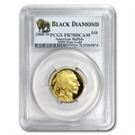 2008-W 1/4 oz Gold Buffalo PR-70 PCGS (Black Diamond)
