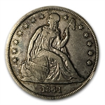1841 Liberty Seated Dollar - Extra Fine