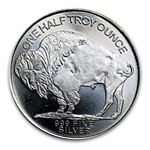 1/2 oz Buffalo Nickel (30 mm) Silver Round .999 Fine
