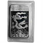 10 oz Year of the Dragon Silver Bar .999 Fine