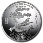 1/2 oz Year of the Dragon Silver Round .999 Fine