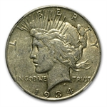 1934-S Peace Dollar Very Fine-30 NGC