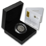 2011 Great Britian 50p Silver Piedfort 50th Anniv. WWF - Proof