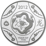 Royal Australian Mint 2012 Year of the Dragon Silver Proof