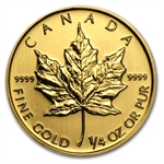 2012 1/4 oz Gold Canadian Maple Leaf