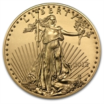 2012 1/2 oz Gold American Eagle - Brilliant Uncirculated