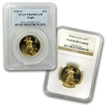 1/2 oz Proof Gold American Eagle PR-69 PCGS/NGC (Random Year)