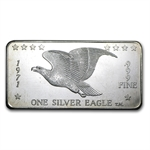 1 oz Silver Eagles Nest Silver Bar .999 Fine