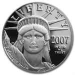 2007-W 1/10 oz Proof Platinum American Eagle PR-70 PCGS