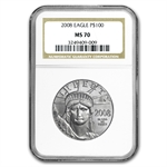 2008 1 oz Platinum American Eagle MS-70 NGC