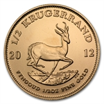 2012 1/2 oz Gold South African Krugerrand