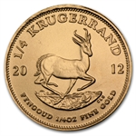 2012 1/4 oz Gold South African Krugerrand
