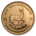 2012 1/10 oz Gold South African Krugerrand