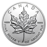 2012 1 oz Silver Canadian Maple Leaf (Brilliant Uncirculated)