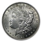 1921 Morgan Silver Dollar 100-Coin Bag (BU)
