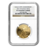 2011-W 1/2 oz Proof Gold American Eagle PF-70 NGC