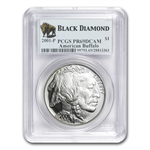 2001-P Buffalo - Black Diamond $1 Silver Commem PR-69 DCAM PCGS