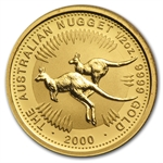 2000 1/2 oz Australian Gold Nugget