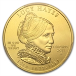 2011-W 1/2 oz Uncirculated Gold Lucy Hayes PCGS MS-69 (FS)