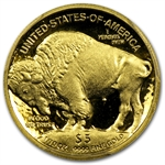 2008-W 1/10 oz Gold Buffalo PR-70 PCGS (Black Diamond)