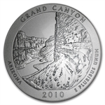 2010-P 5 oz Silver ATB Grand Canyon PCGS SP-70 PCGS Roosevelt