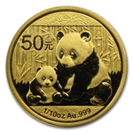 2012 1/10 oz Gold Chinese Panda (Sealed)