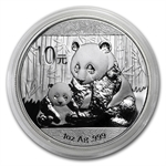 2012 1 oz Silver Chinese Panda (In Capsule)