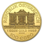 2006 1 oz Gold Austrian Philharmonic - Brilliant Uncirculated