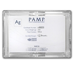 250 gram Pamp Suisse Silver Bar - Fortuna (In Assay)