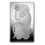 10 oz Pamp Suisse Silver Bar - Fortuna (w/ Assay)