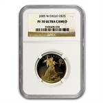 2005-W 1/2 oz Proof Gold American Eagle PF-70 NGC
