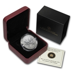 2011 1/2 oz Silver Canadian $10 Maple Leaf Forever (W/Box & COA)