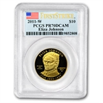 2011-W 1/2 oz Proof Gold Eliza Johnson PCGS PR-70 FS
