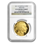 2011-W 1 oz Proof Gold Buffalo PF-70 NGC