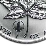 2012 1 oz Silver Maple Leaf - Leaning Tower of Pisa Privy